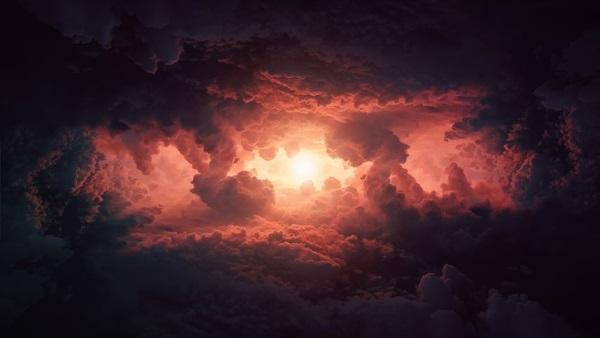 Wolken Sonne Yoga